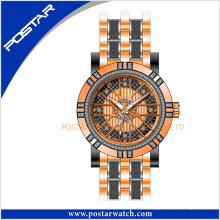Reloj de cuarzo redondo reloj precio de fábrica OEM y reloj ODM