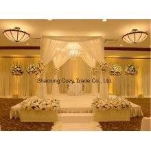 Gute Qualität Voile Sheer für Hochzeit Bankett Drapieren, Vorhang, Backdrop