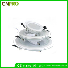 Factory Supply LED Recessed Ceiling Light LED 6W Glass Panel