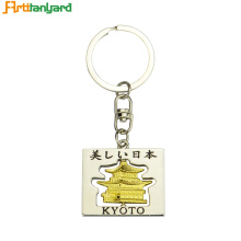 Heart Shaped Metal Keychain Personalized