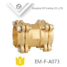 EM-F-A073 Latão tubo de mangueira forjada flange tipo encaixe de tubulação da torneira