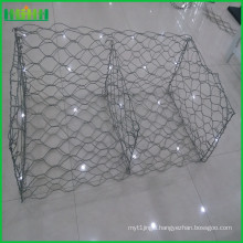 strong hot dipped stone gabion with CE certificate