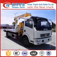 Venta caliente DFAC DLK 3.2 camioneta wrecker con grúa