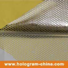 Aluminum Embossing Tamper Evident Foil Honeycomb
