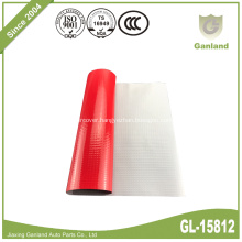 Truck Cover Waterproof PVC Tarpaulin Roll Red 900gsm