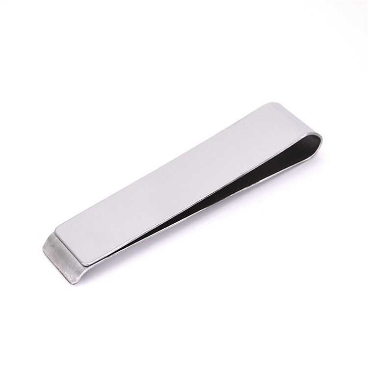 Engravable Stainless Steel Metal Wallet Money Clip