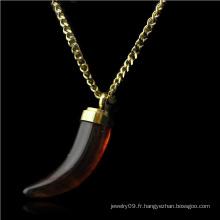 Bijoux en acier inoxydable Collier bijoux en forme de bijoux (hdx1110)