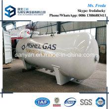 10t Horizontal ISO ASME Standard LPG Storage Tank