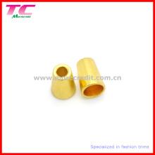 Kundenspezifische goldene Metallperlen für Badeanzüge