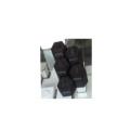 Black PU Hexagon Jewelry Ring Display Set Wholesale (hexagon)