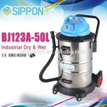 50L Aspirador industrial húmido e seco com tomada externa BJ122-50L