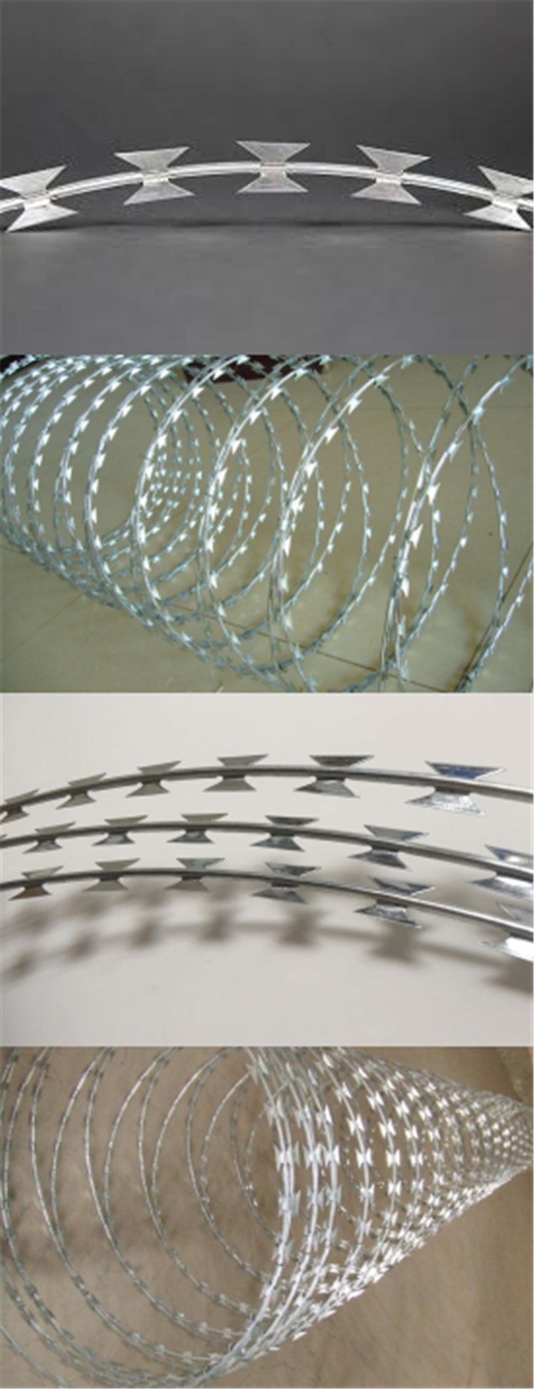 Galvanized Cheap Price Razor Concertina Barbed Wire China Manufacturer