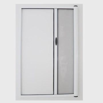 DIY Roller Retractable Insect Screen Door