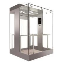 MRL Пассажирский лифт с безредукторным двигателем PM