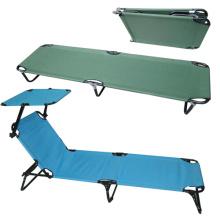 Cama de acampamento de dobramento portátil de alumínio leve super ao ar livre (SP-170)