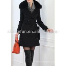 Luxus-Damen-Kaschmir-Mäntel im klassischen Stil