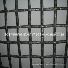 Rede de arame de aço inoxidável ultra fino / malha de arame frisada de aço inoxidável