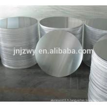 6063 disques ronds en aluminium de haute qualité