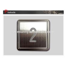 Botão de braille prático de qualidade melhor para elevador