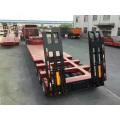 Construction Machinery 3 Axle Flat bed Semi-Trailer