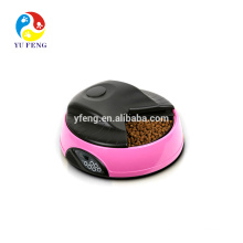 4 Meal PF-08 Automatic dog fountain LCD Digital Tray pet dog cat feeder food dog products