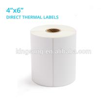DYMO1744907 Etiquetas térmicas diretas de 4x6 polegadas