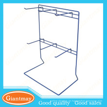 candy wire hanging tabletop metal display stand for promotion