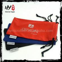 les produits du sac de poche de lunettes de soleil de la Chine, poche faite sur commande de lunettes de soleil de microfiber, poche molle d'écouteur de tissu de microfiber
