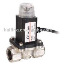 KLMQ отключает газовый клапан