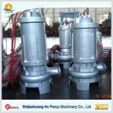 Pompe d'égout submersible en acier inoxydable de 2 po