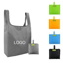 large capacity foldable shopping bag for custom recycling eco-friendly bag waterproof storage Oxford cloth handbag