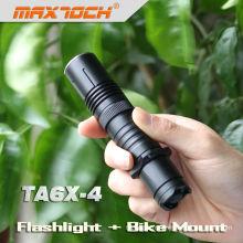 Maxtoch TA6X-4 Mini lampe de poche solaire torche solaire