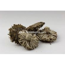Forma elegante de la flor Puer té del jazmín