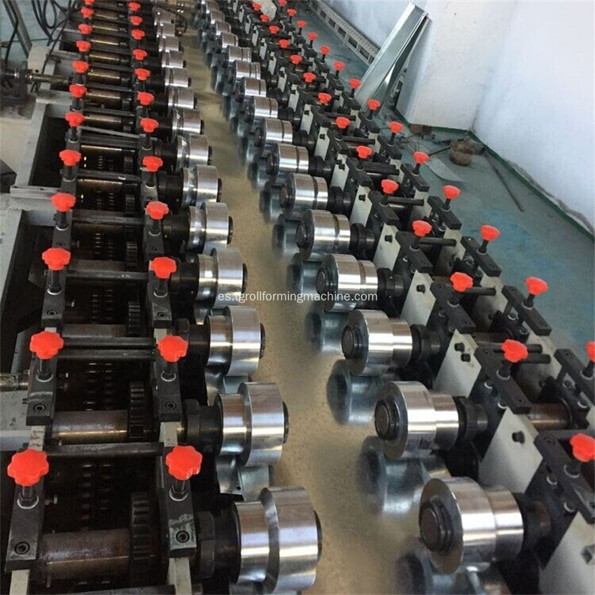 Shelf Baseplate Roll Forming Machine