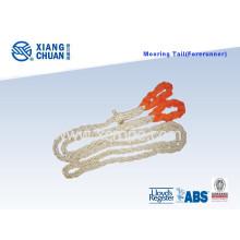 Cauda de amarração de poliéster de 8 cordas