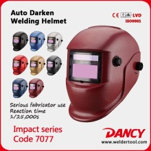 Custom Tig Electronic Welding Helmet with CE approval code.7077