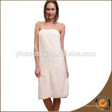 Toalha de algodão branco toalha de banho para o hotel