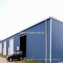 Stahlkonstruktion - vorgefertigte Garage (SSW-01)