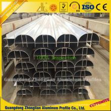 Profilé en aluminium purifié anodisé pour la salle blanche Décoration
