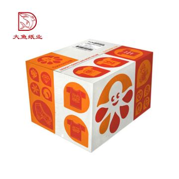 Caja de empaquetado de ropa de lujo impresa personalizada profesional