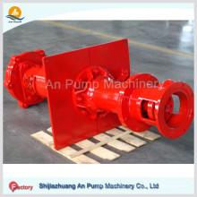 Pompe à lisier de soudure verticale à corrosion abrasive pour l'exploitation minière