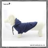 Navy Blue Plain Purified Cotton Dog Hoodies (SPH6001-1)