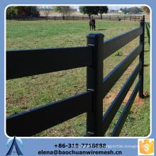 Kundenspezifische Qualität und Stärke Quadrat / Runde / Oval Tubes Style Grassland Zaun