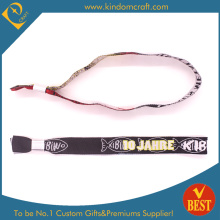 Custom High Quality Woven Wristband