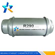 Propane R290, réfrigérant HC respectueux de l'environnement,
