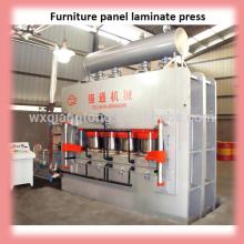 2800T máquina de prensagem a quente 6 * 12 máquina automática máquina de imprensa de laminação de linha / mobiliário