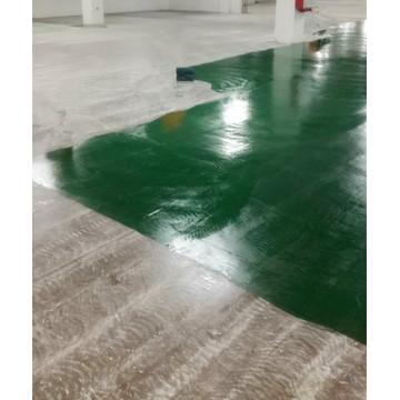 Brilliant Green Epoxy Antistatic Topcoat coating