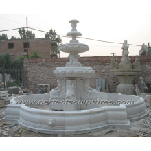 Stone Marble Fountain for Outdoor Garden Decoration (SY-F353)
