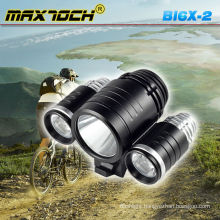 Maxtoch BI6X-2 4*18650 Battery Pack 3*XML T6 CREE LED Bicycle Brake Light System