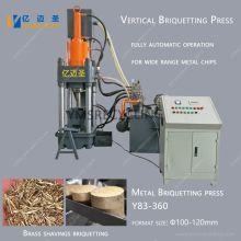 Vertical Copper Chips Briquetter Machine